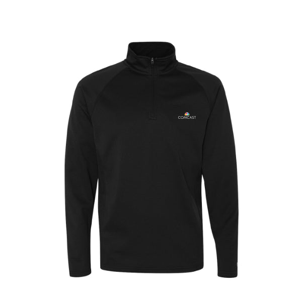 Men's Colorblocked Performance Quarter-Zip Sweatshirt