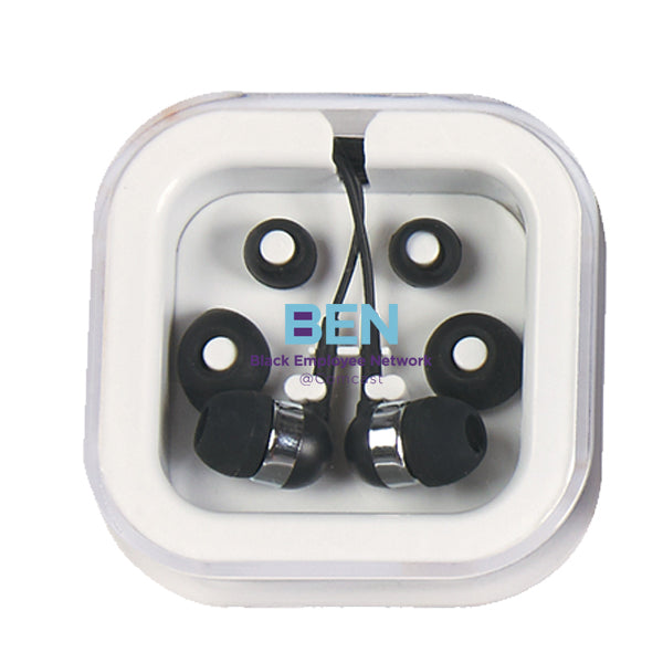 Colored Ear Buds in Case