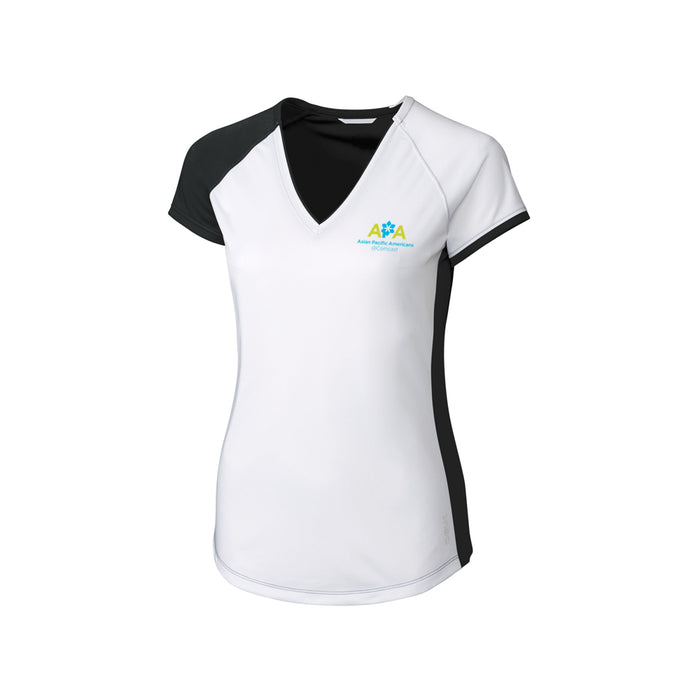 ERG Ladies Presley V-Neck Polo