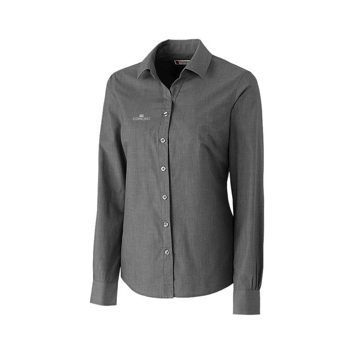 Ladies Halden Stain Resistant Long Sleeve Shirt
