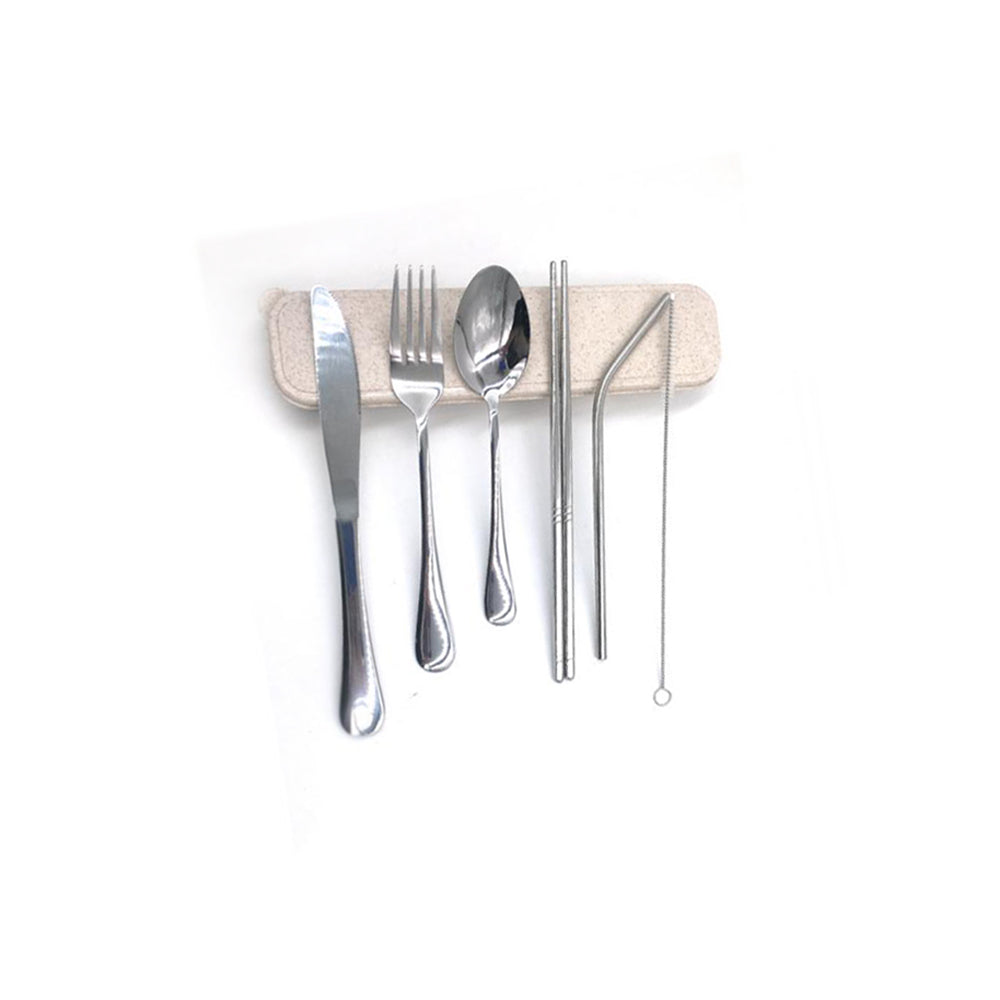 6 Piece Stainless Steel Utensil Set