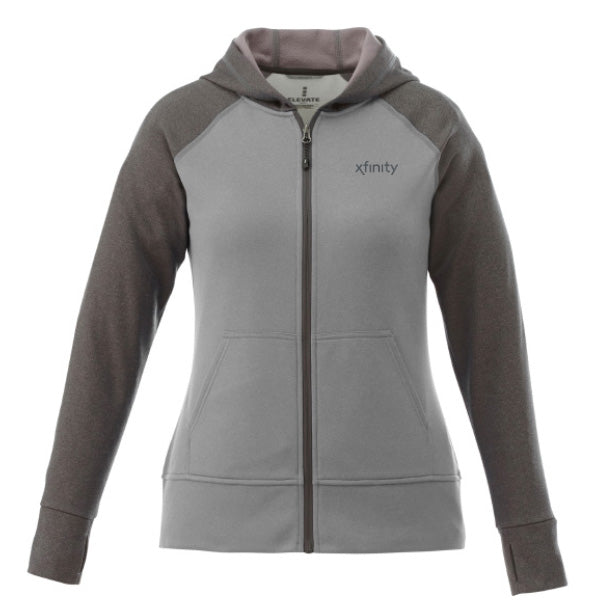 Ladies Anshi Knit Full Zip Hoodie