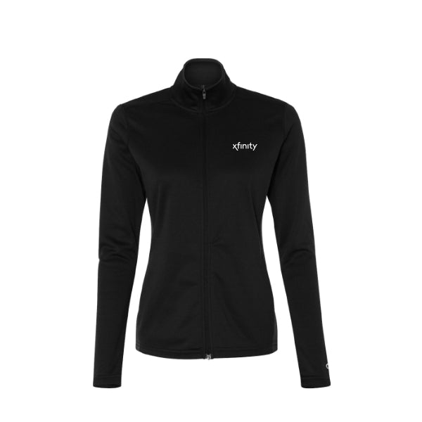 Ladies Colorblocked Performance Full-Zip Sweatshirt