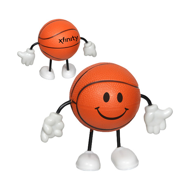 Basketball Stress Reliever Figurine