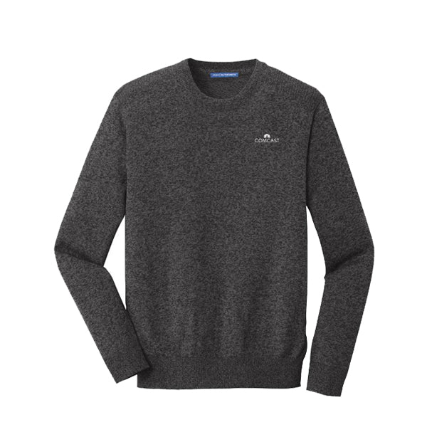 Men's Port Authority Marled Crew Sweater
