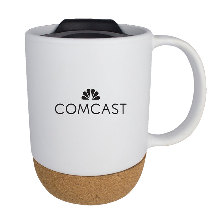 14 oz Ceramic Cork Bottom Mug