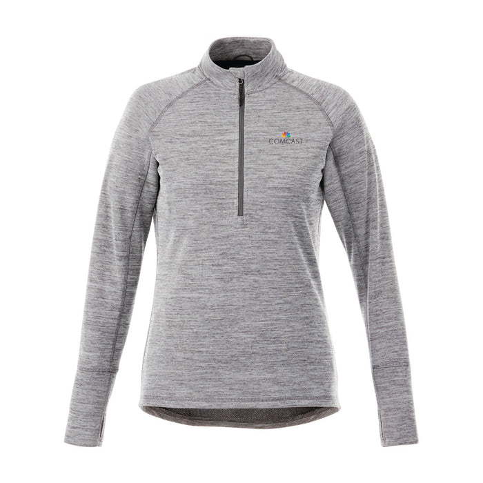 Ladies Crane Knit Half Zip