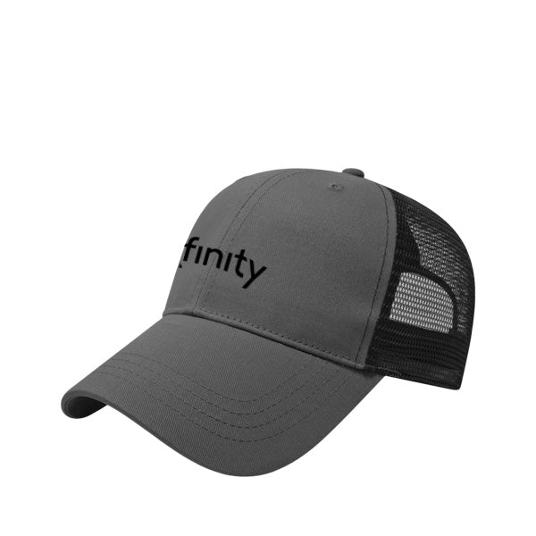 Grey/Black Structured Cap