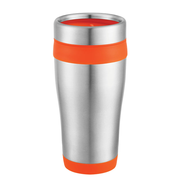 16 Oz. Travel Carmel Tumbler