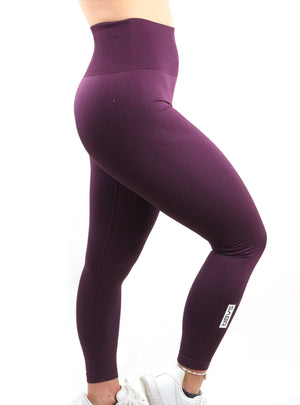 Deep Purple Eclipse Leggings