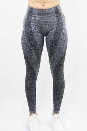 TRUE NORTH LEGGINGS- STEEL GRAY