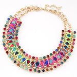 Rainbow Statement Necklace (5 colors)