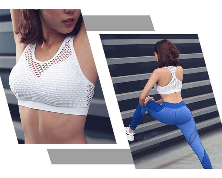 Mesh Breathable Sports Bras
