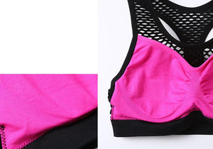 Mesh Breathable Yoga Bras