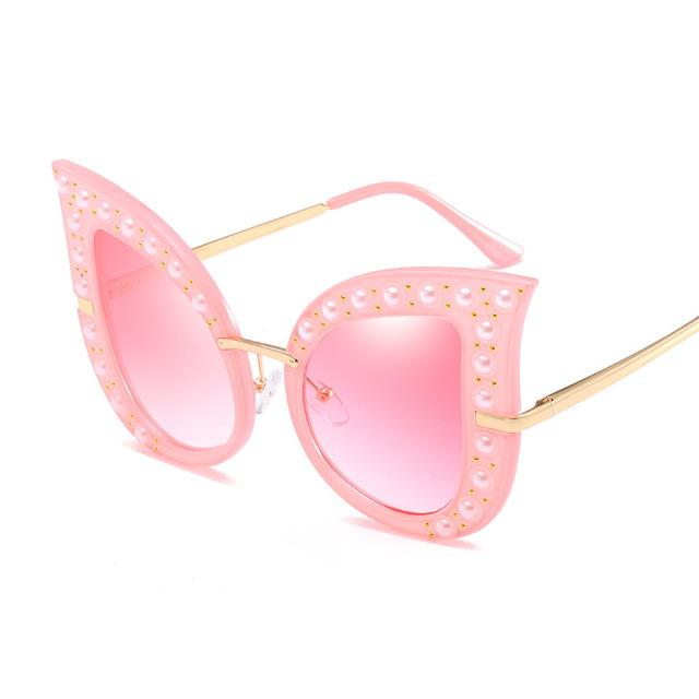 Pearl Cat Eye Sunglasses
