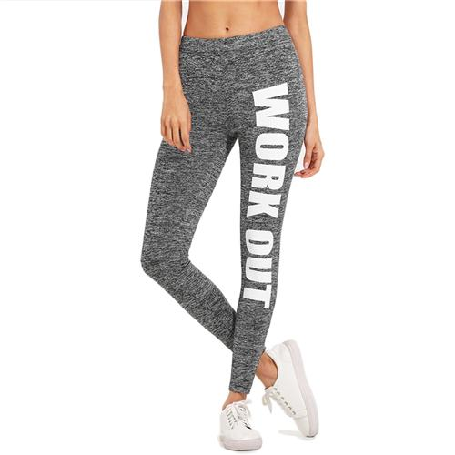 WORKOUT print Leggings