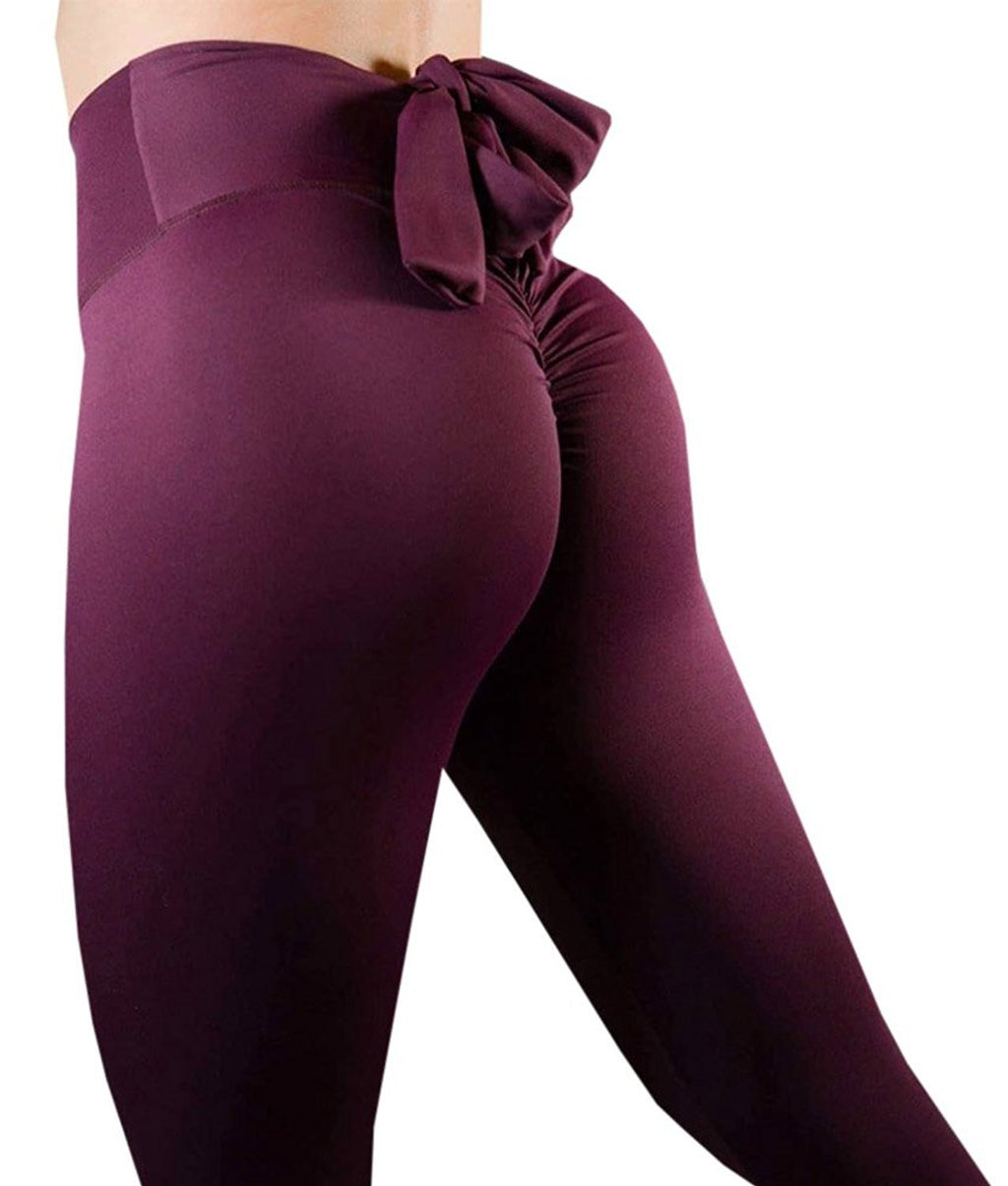 Bowknot Butt Lifter  Leggings