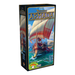 7 Wonders: Armada Expansion - Front
