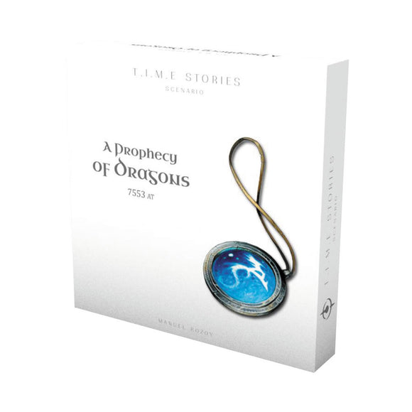 TIME Stories: A Prophecy of Dragons Expansion - Front