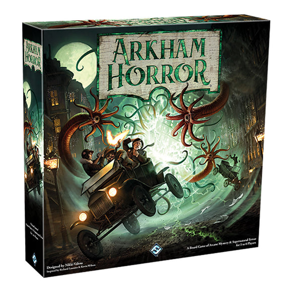 Arkham Horror: Third Edition - Front