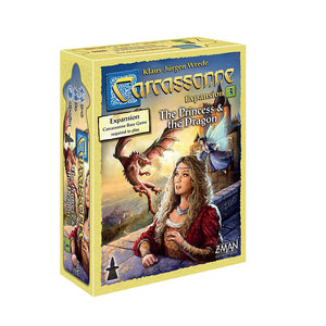 Carcassonne: Expansion 3 - The Princess and the Dragon - Front