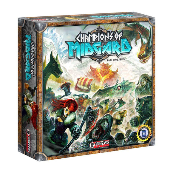 Champions of Midgard - Front