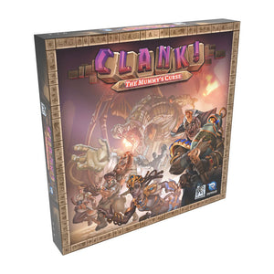 Clank!: The Mummy's Curse Expansion - Front