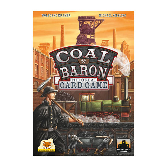 Coal Baron: The Great Card Game - Front