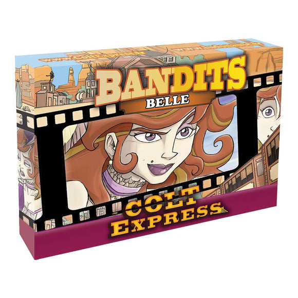 Colt Express: Bandit Pack - Belle Expansion - Front