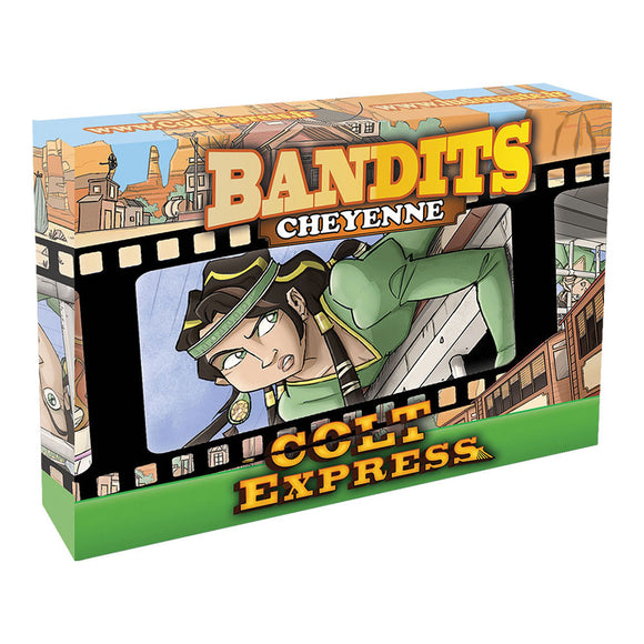 Colt Express: Bandit Pack - Cheyenne Expansion - Front