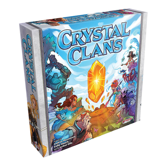Crystal Clans - Front