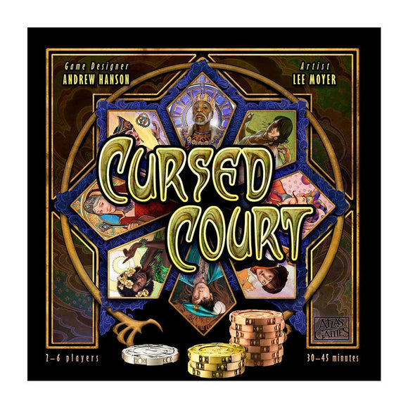 Cursed Court - Front
