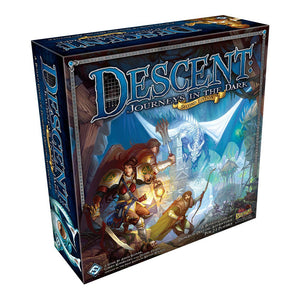 Descent: Journeys in the Dark Second Edition - Front