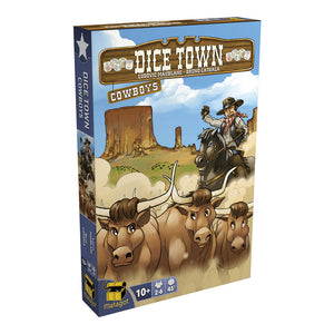 Dice Town: Cowboys Expansion - Front