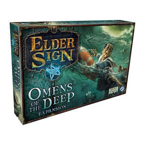 Elder Sign: Omens of the Deep Expansion - Front