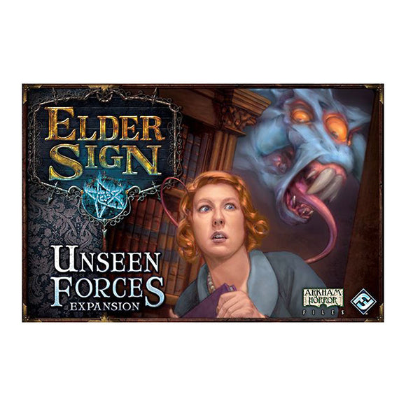 Elder Sign: Unseen Forces Expansion - Front