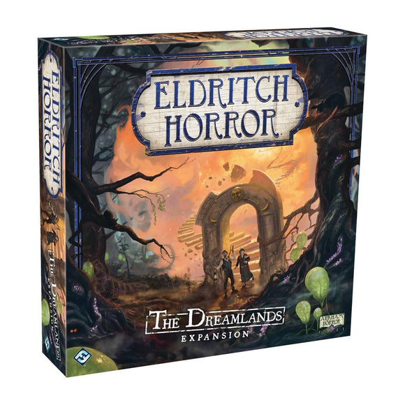 Eldritch Horror: The Dreamlands Expansion - Front
