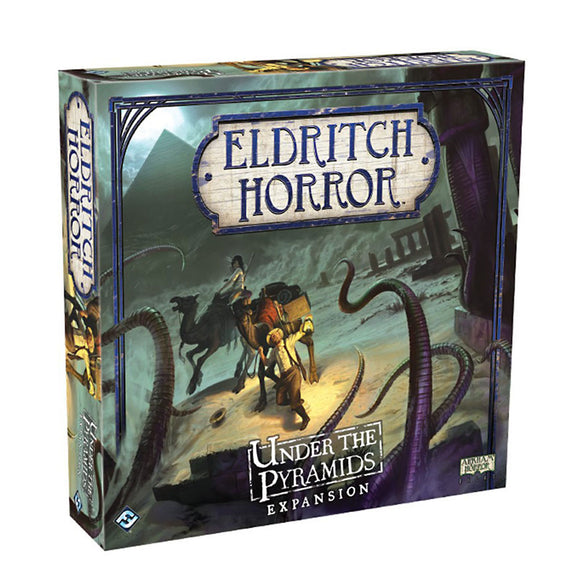Eldritch Horror: Under the Pyramids Expansion - Front