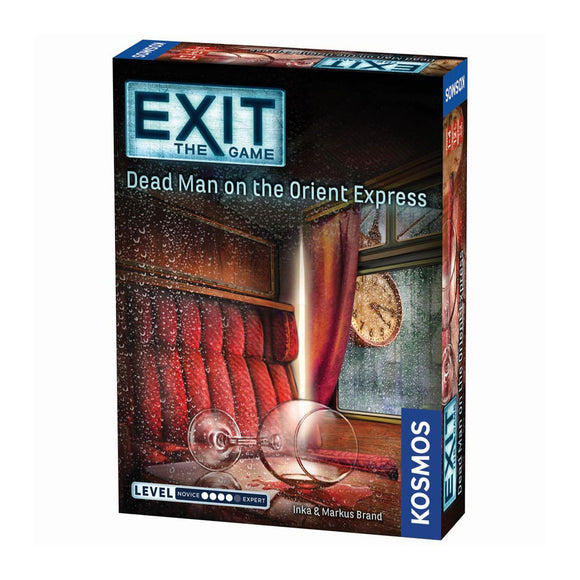 EXIT: Dead Man on the Orient Express - Front