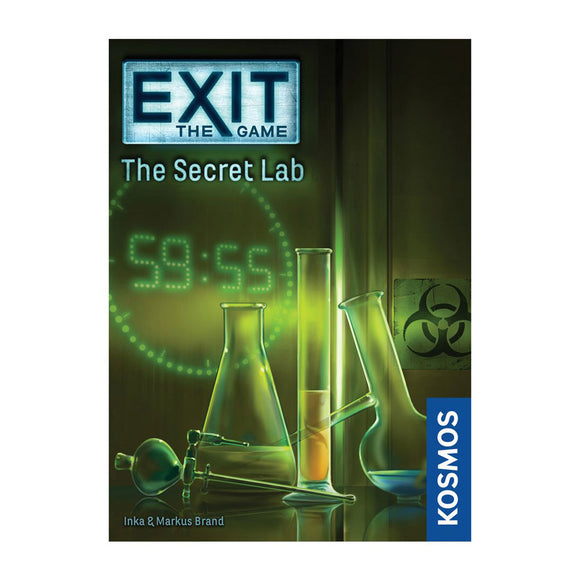 Exit: The Secret Lab - Front