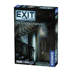 EXIT: The Sinister Mansion - Front