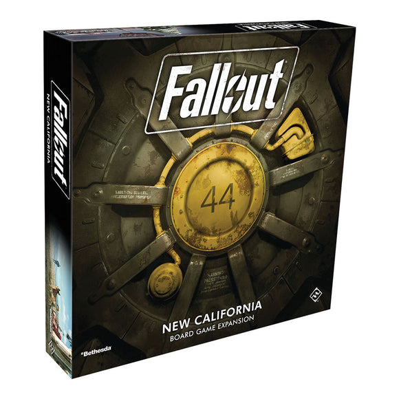 Fallout: The Board Game - New California Expansion - Front