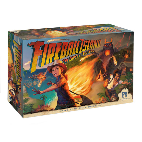 Fireball Island: The Curse of Vul-Kar - Front