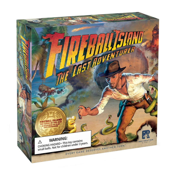 Fireball Island: The Last Adventurer - Front