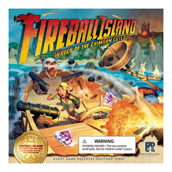 Fireball Island: The Wreck of the Crimson Cutlass - Front