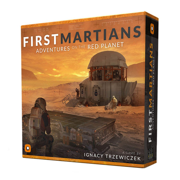 First Martians: Adventures on the Red Planet  - Front