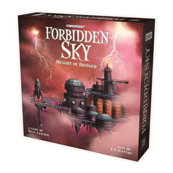 Forbidden Sky: Height of Danger - Front