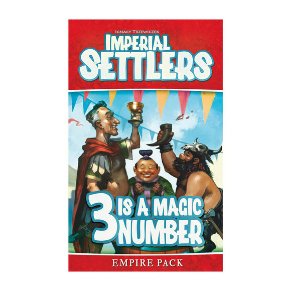 Imperial Settlers: 3 is a Magic Number Expansion - Front