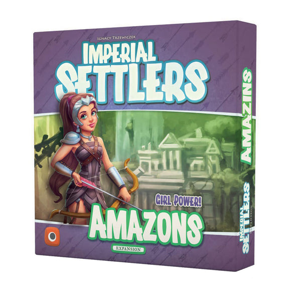 Imperial Settlers: Amazons Expansion - Front