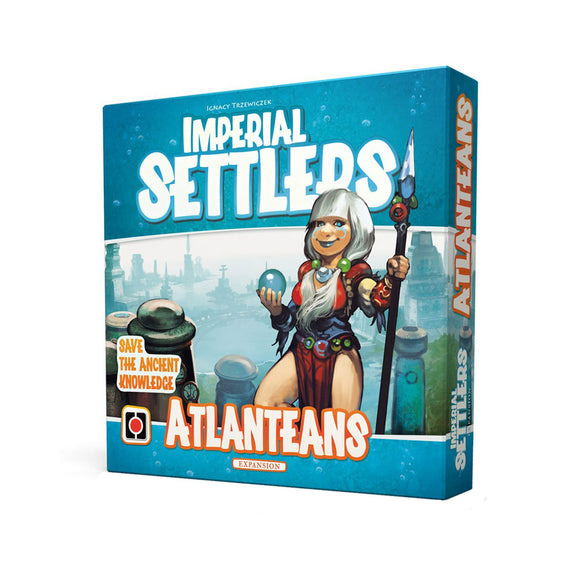 Imperial Settlers: Atlanteans - Front